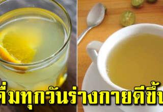 8 ประโยชน์ของการน้ำอุ่นผสมมะนาว ในตอนเช้า